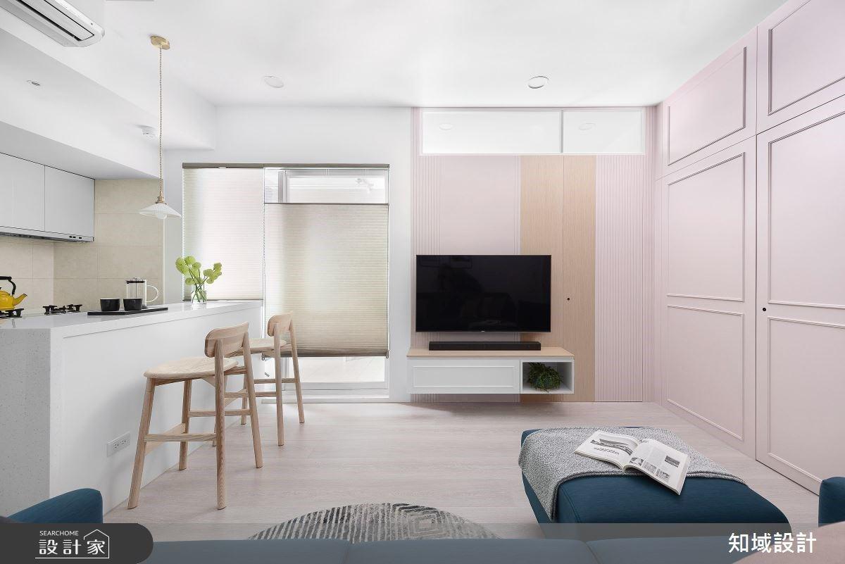 大人式的粉紅泡泡 幸福滿溢充滿的新婚房