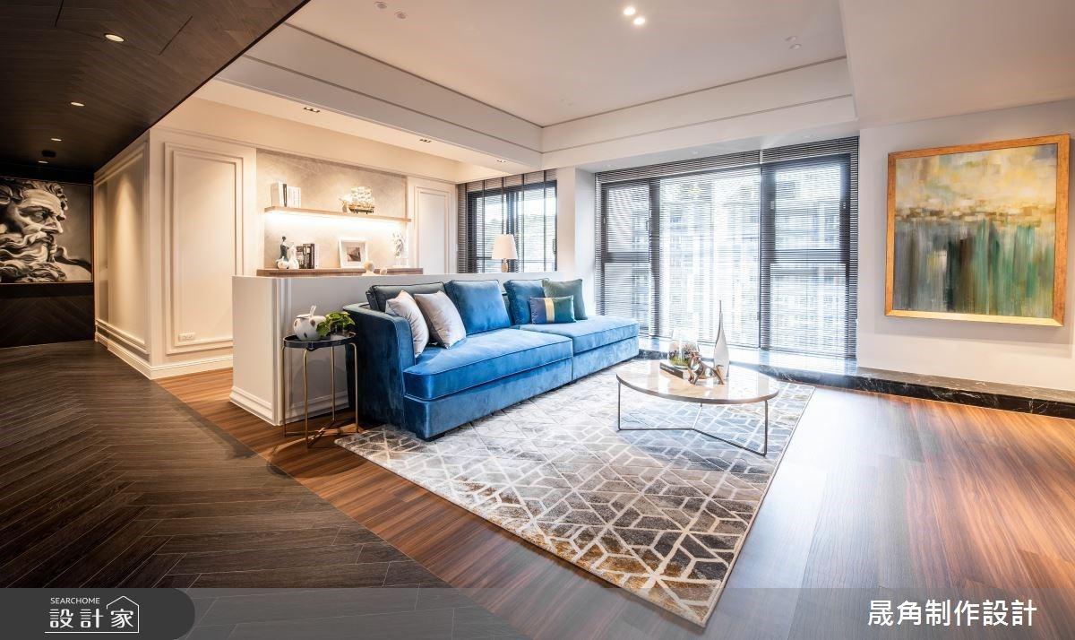 在新古典景觀大宅裡,為你留一間馬卡龍甜心臥房!