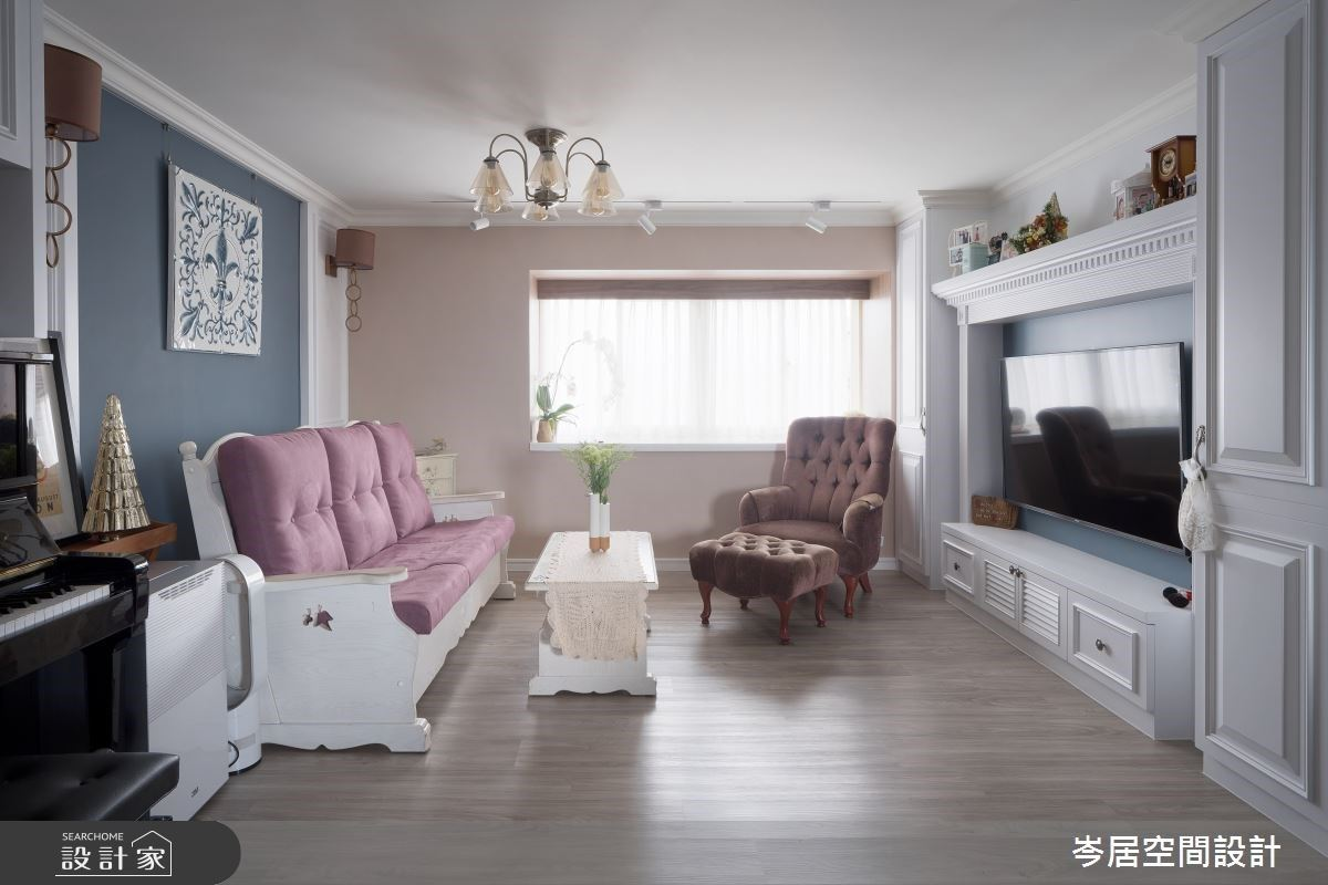 美式風尚讓老屋重振活力!陽光、色彩與美學細節,寫下動人家屋故事