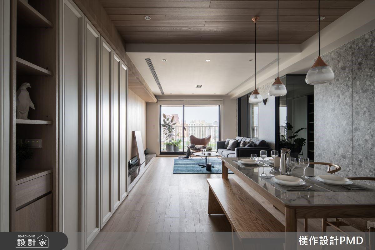 第一眼就愛上的舒適全齡宅!27 坪小豪宅化樑柱為收納牆、改走道為更衣室