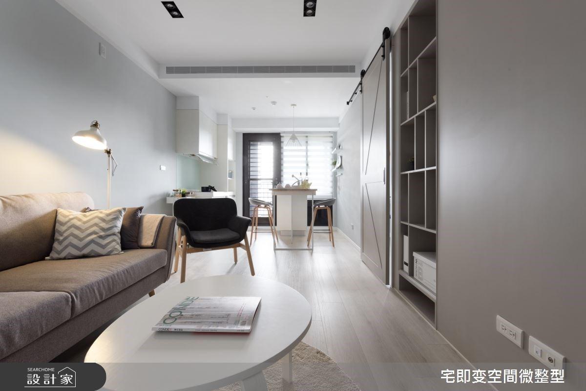 2+1 房實現北歐風大空間!翻門式鞋櫃、獨立更衣室開啟親子宅的美型收納