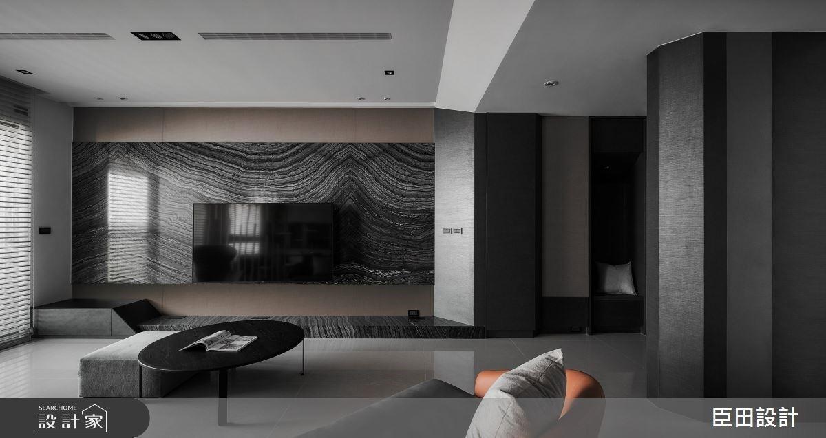兼具設計感與收納機能的現代風家居,微型酒吧彷彿入住五星級飯店