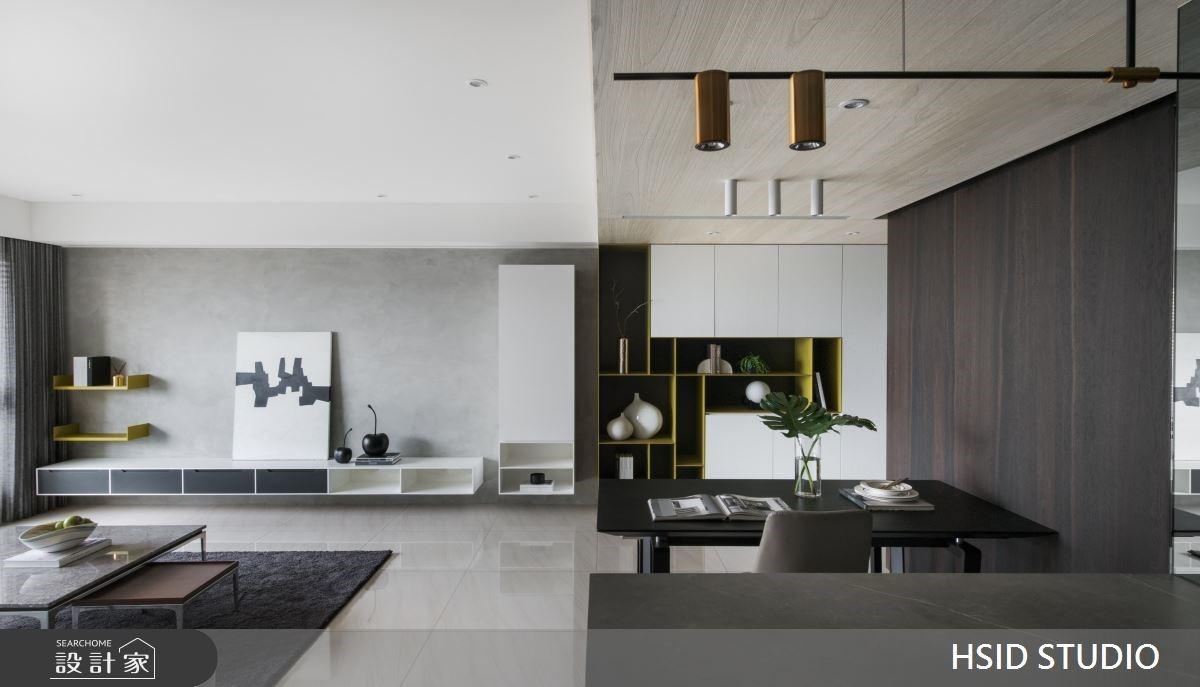 黑、白、灰的簡約之道!53坪大器現代宅,敘寫三代同堂的寧靜小日子