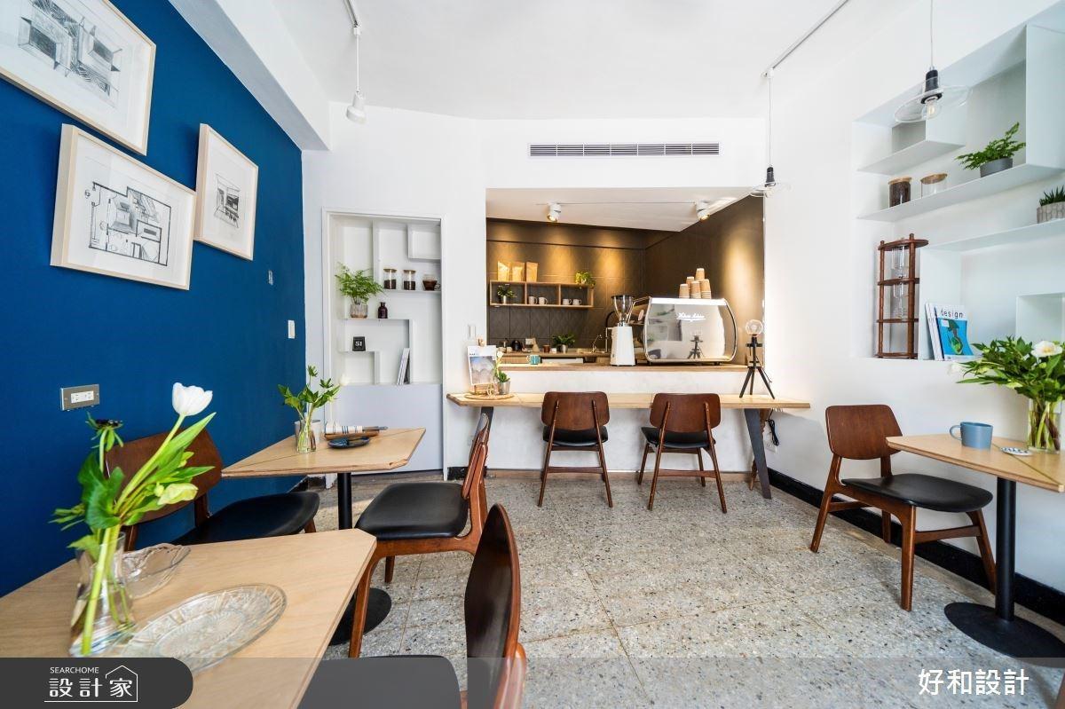 投入蔚藍的擁抱!你心之嚮往的文青系老屋咖啡店