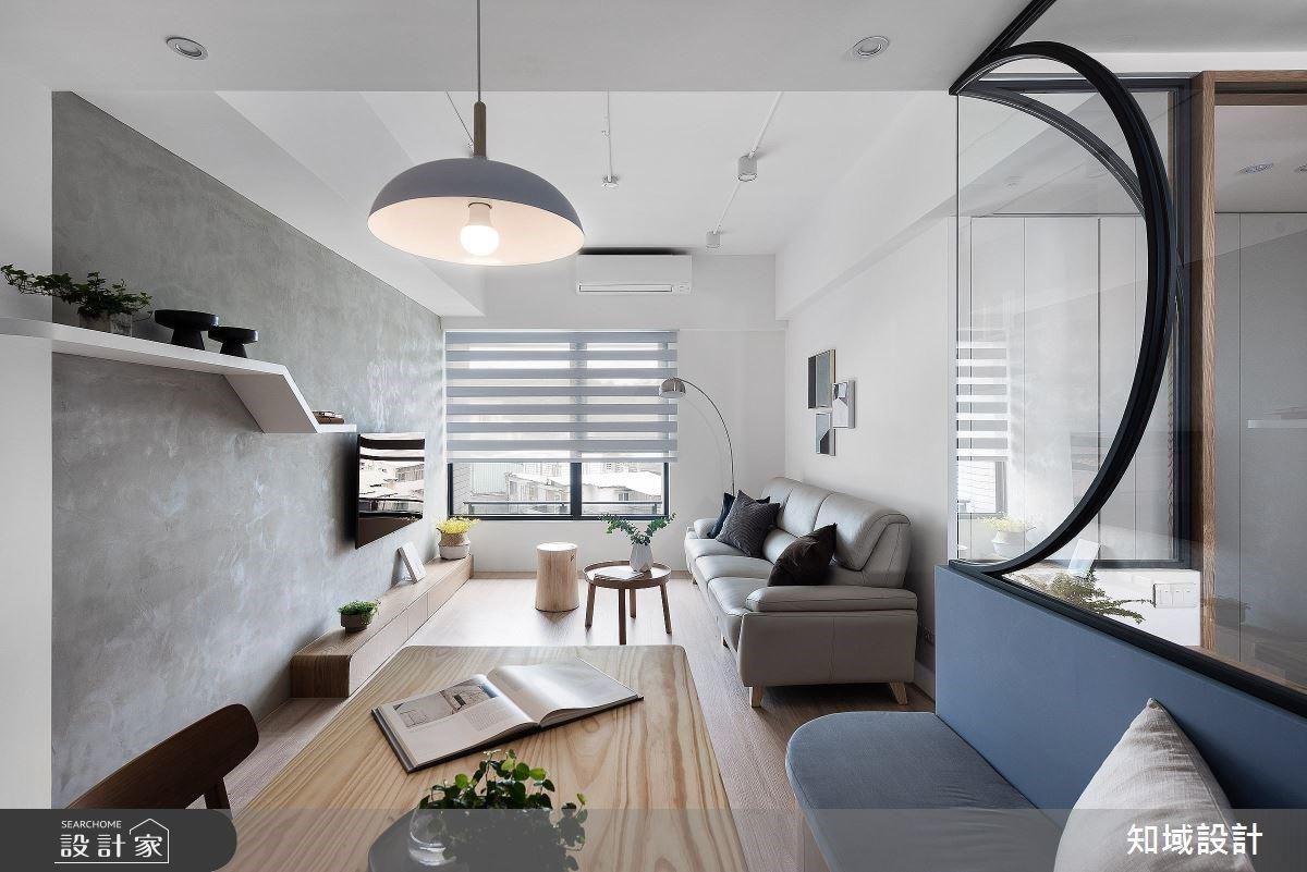 14 坪北歐宅挪出三房兩廳!玻璃隔間奠定親子間舒適的親密距離