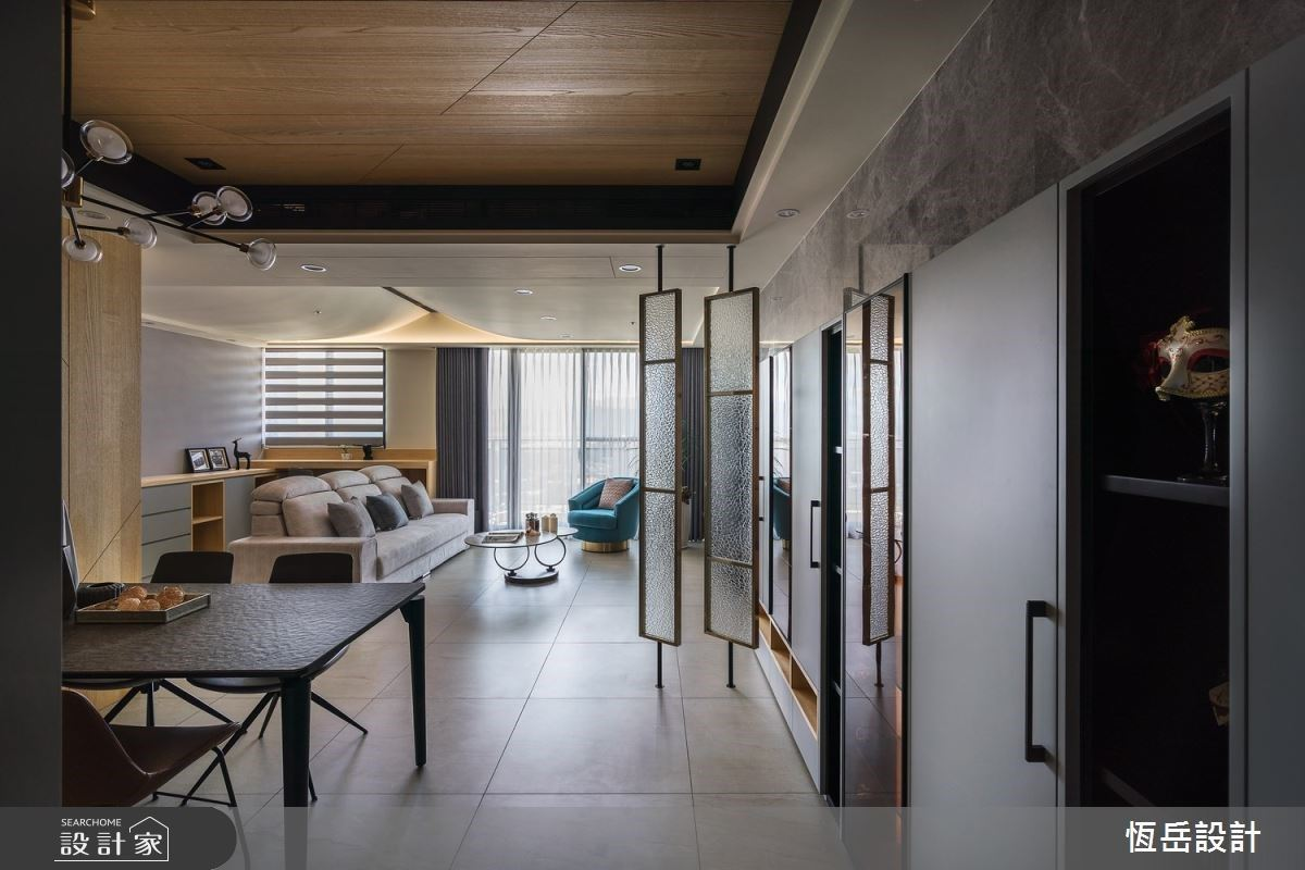 走入26坪低調奢華風小豪宅,用燈光設計讓家溫柔有層次