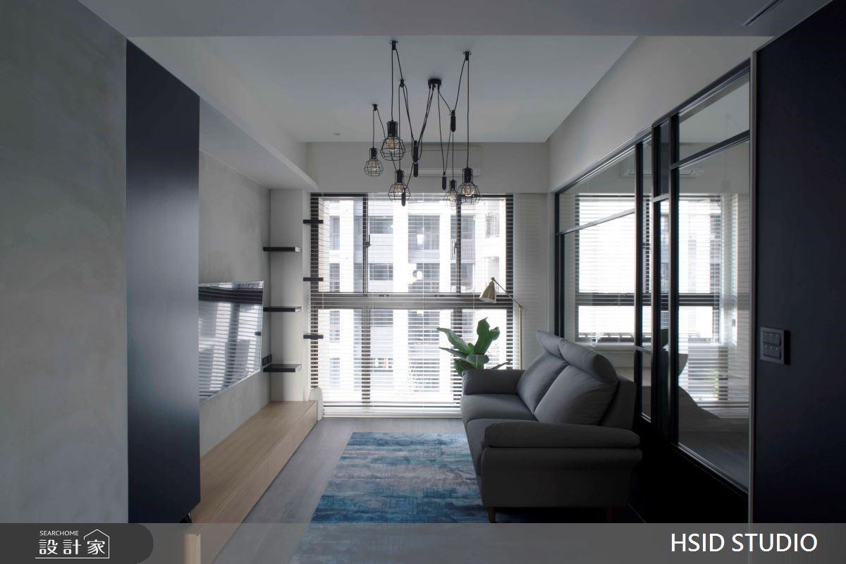 有貓,單身的日子好愜意!舒適灰階x貓跳台,描繪超暖心16坪文青工業宅