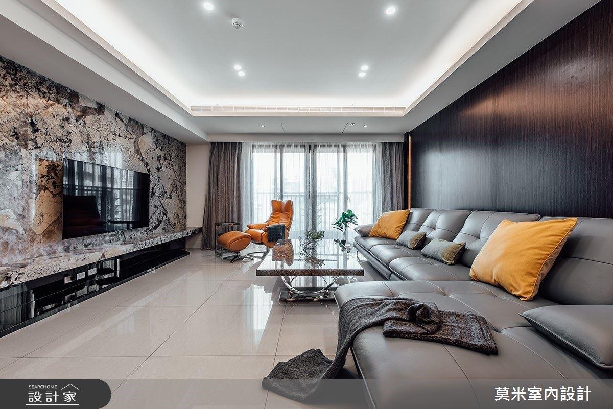 60坪混搭風時尚豪宅,化解低矮樑柱、異材質搭配實現夢想之家!