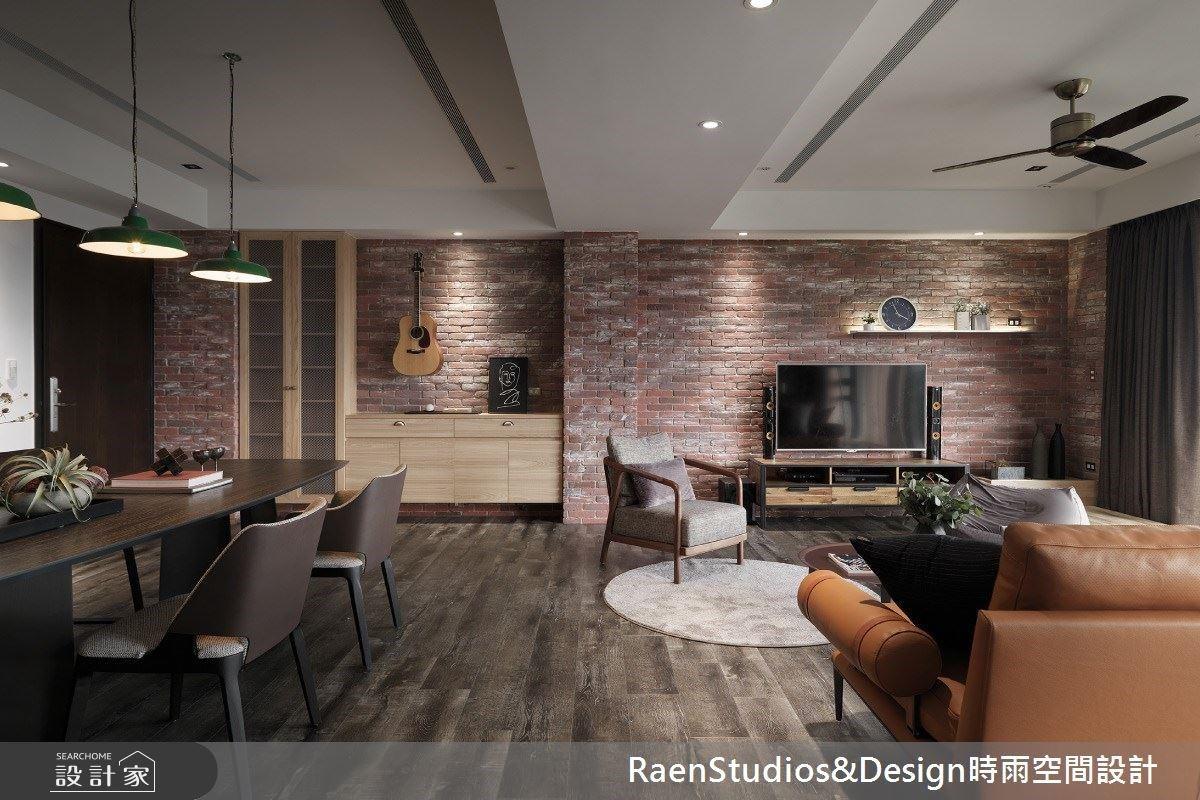 中古屋翻新醫生的風格美式宅!揉合紅磚牆與自然風,訂製美感與機能兼修的森林小屋