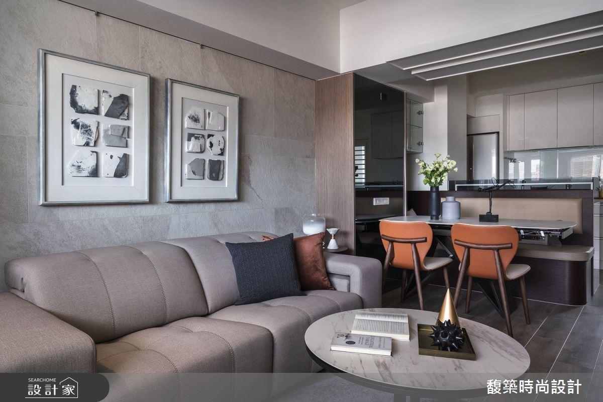 富有溫度的居家場景!現代風改造 17 坪老屋新境界