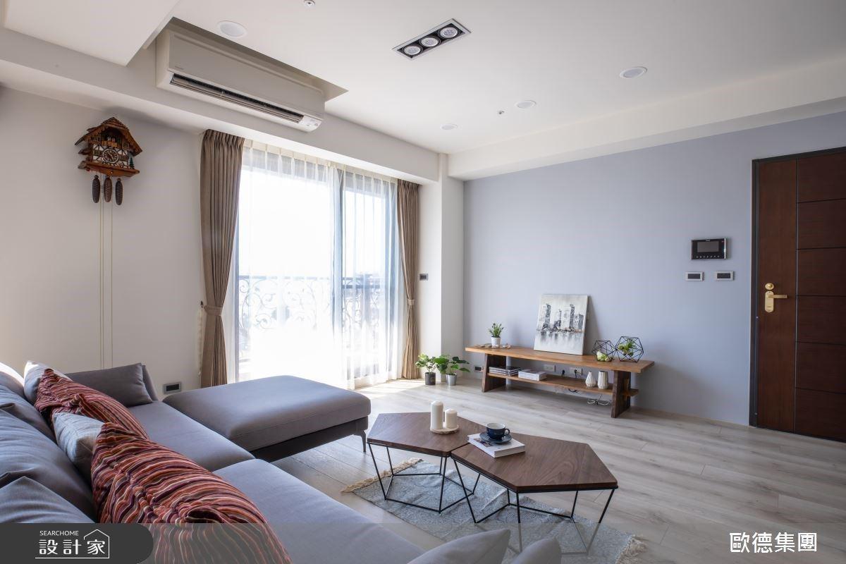 一個是木系北歐、一個是現代簡約!系統傢俱讓比鄰而居的兄弟宅不僅有各自風格、更牽起家的關聯