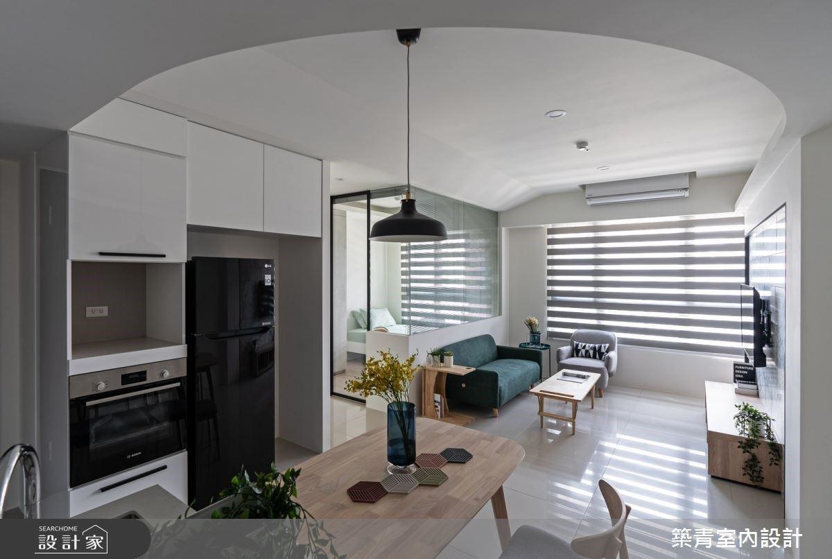 系統櫃、家具最百搭背景!小資、首購族適用空間美學方案