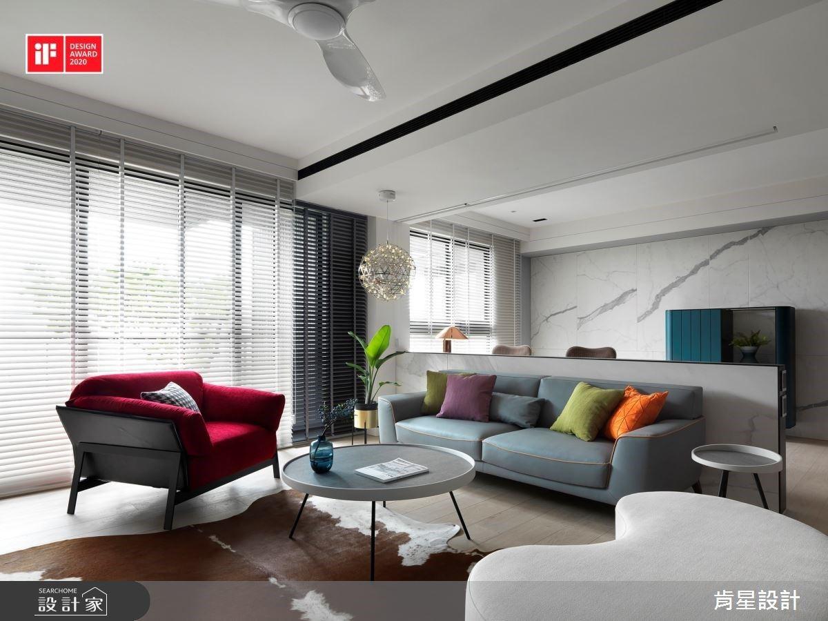 榮獲德國iF設計大獎!52坪現代風親子宅,以隱藏式收納踏出從容迷人的生活步調