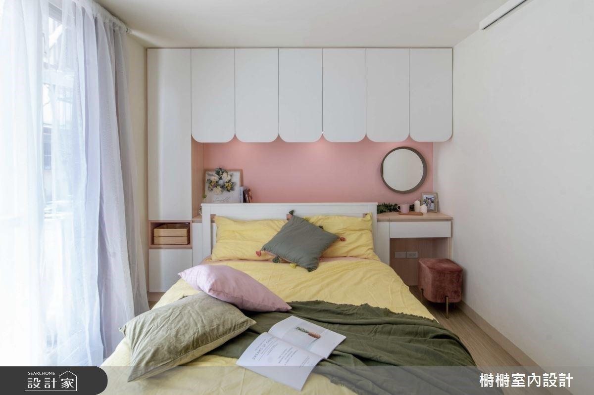 40年老屋改造!讓日光遊走於25坪的可愛混搭風住宅