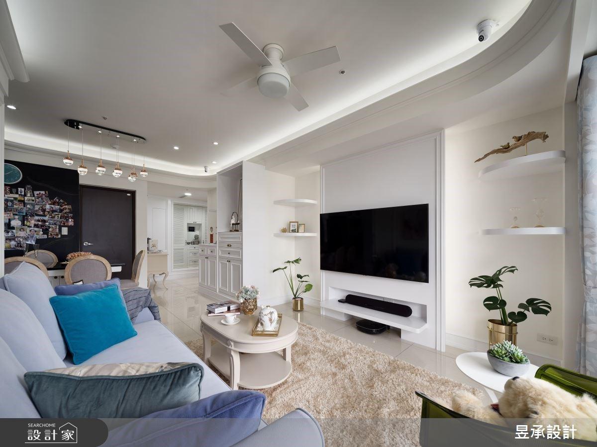 融入強大機能與完美收納術!坪效再進化的白色美式風全齡宅邸