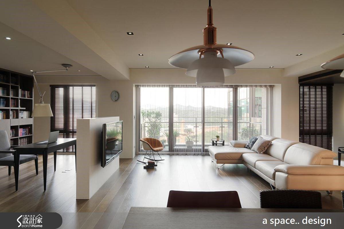肌淨簡約風打造80坪寬敞居家空間,品味生活中單純美好