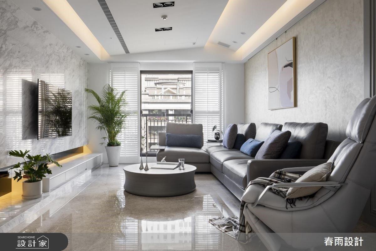海量收納兼美學造型牆!混搭美式與現代風的壓力釋放宅