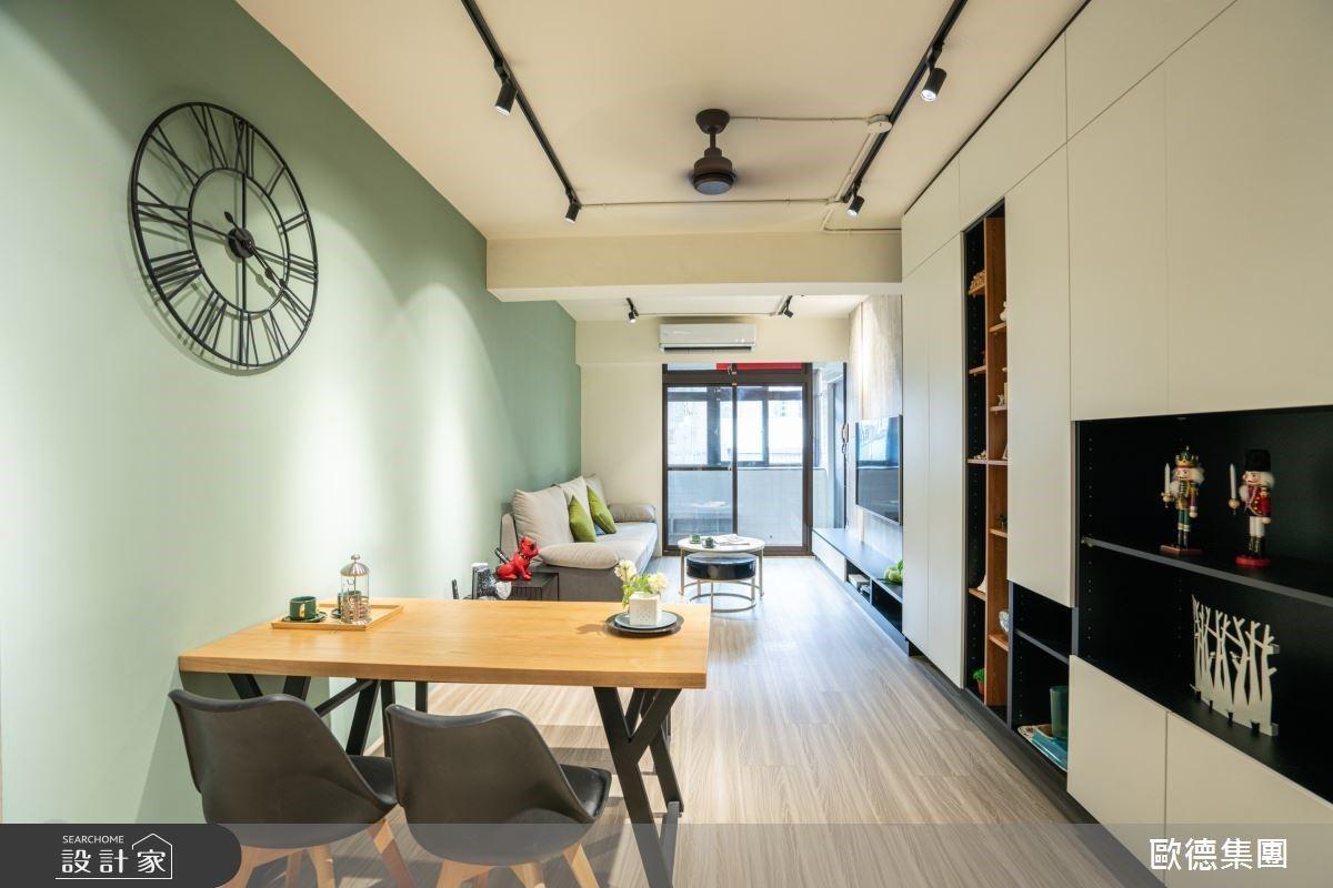 二進式玄關是貓咪眺望台!多合一機能櫃、專屬更衣室成為輕工業風的住宅亮點