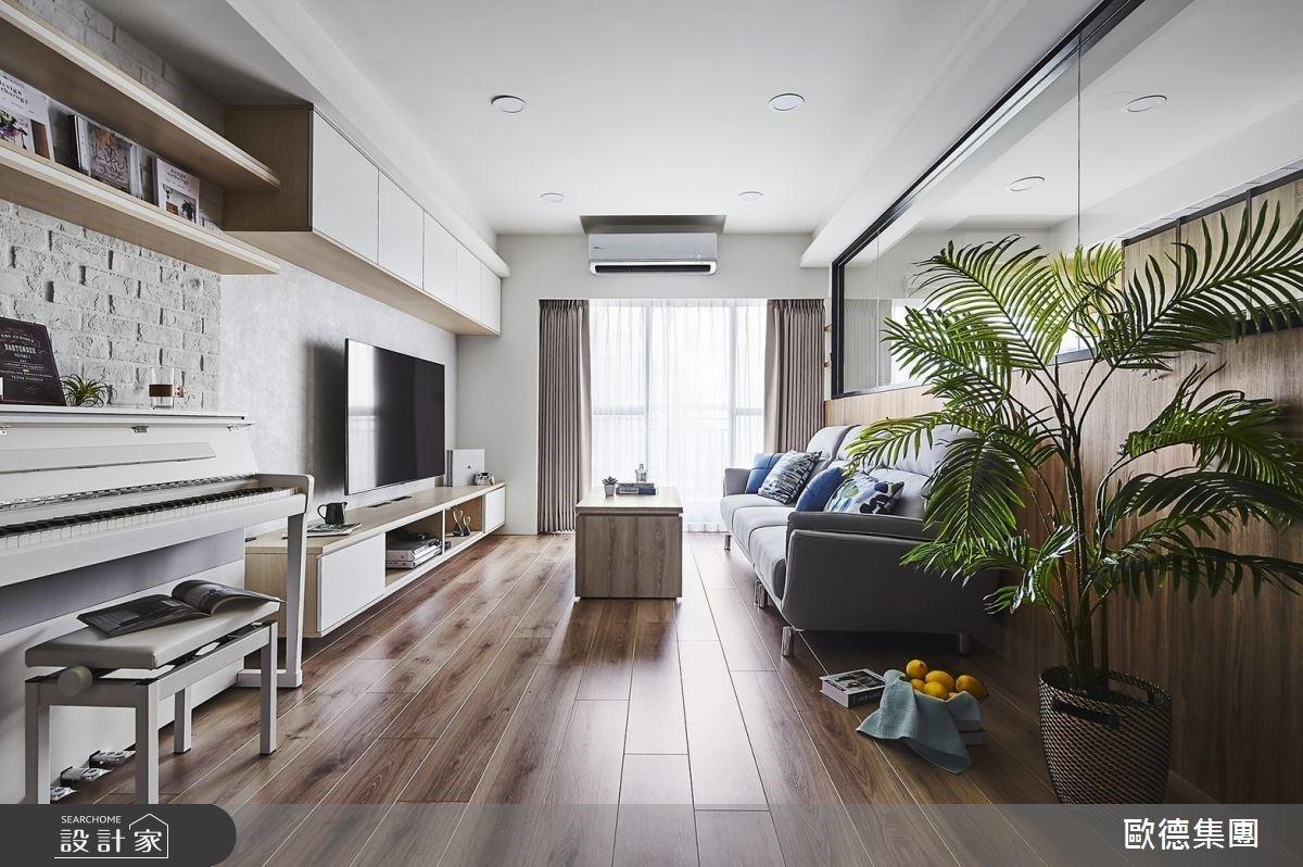 原木質感X中島廚房X玻璃書房 中古屋翻新為暖透北歐風寵物渡假宅