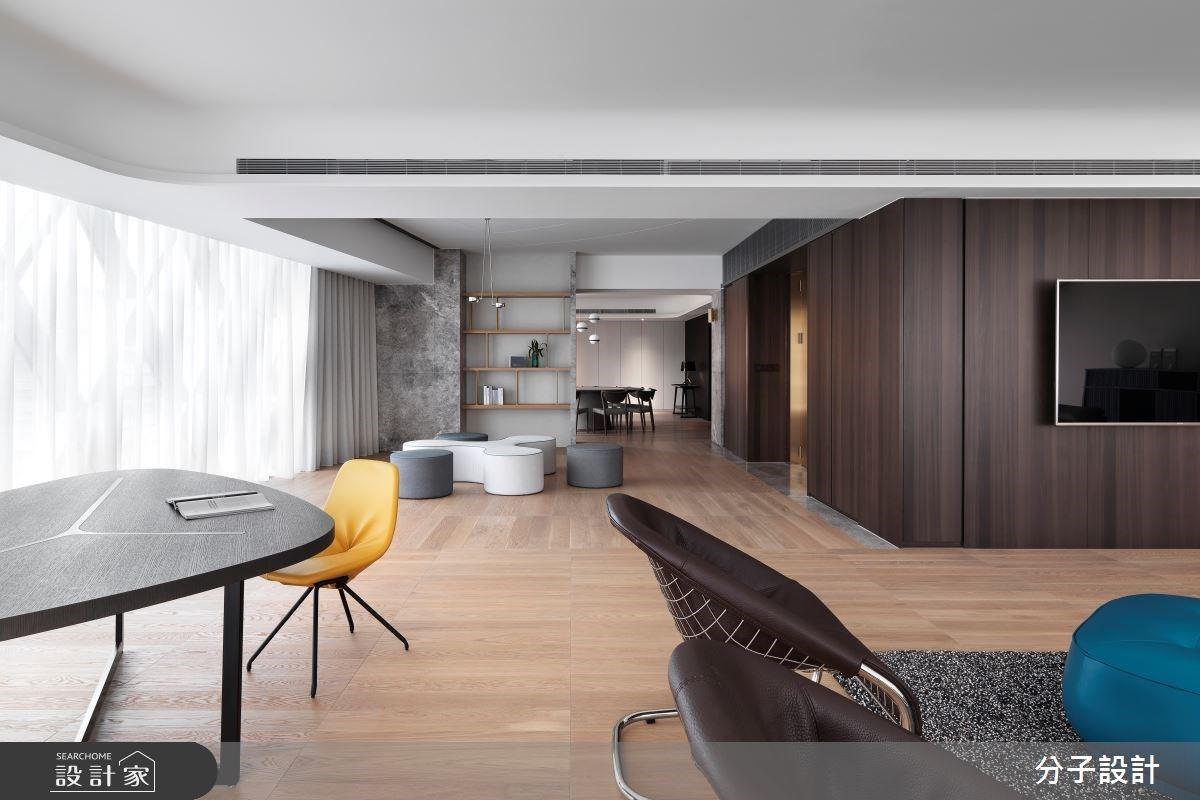 現代法式優雅日光宅,簡約的設計搭配出內斂從容的高質感