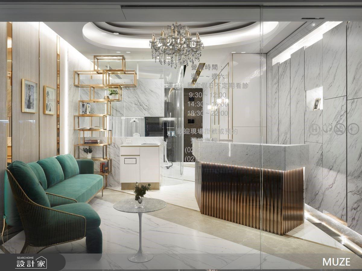 中古屋改建星級診所!如同殿堂般的尊榮奢華風