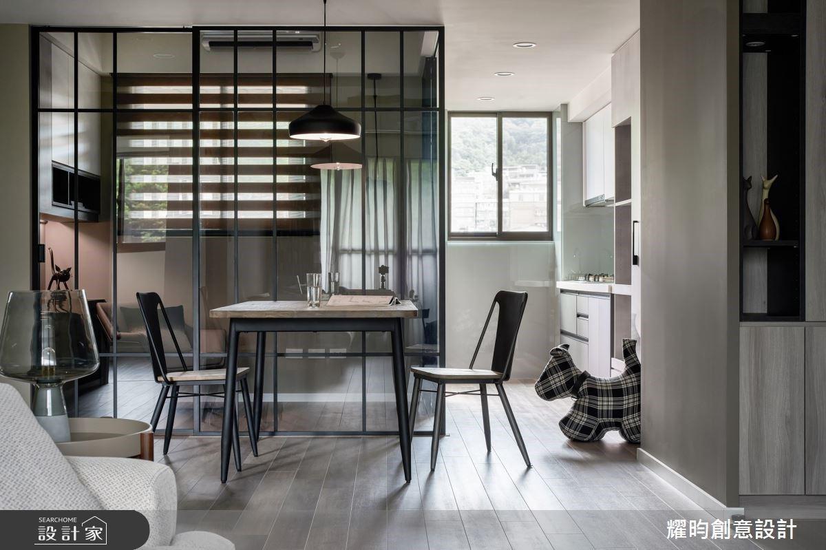 單身工程師住的好舒服!莫蘭迪色X玻璃屋,讓北歐風家屋釋放清爽無壓療癒力