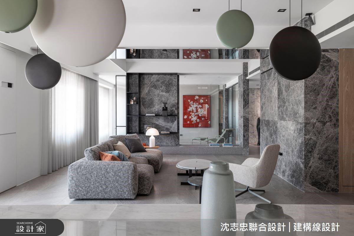 多變開放式設計值得典藏!隔間設計的三種姿態,靈活詮釋現代風親子宅