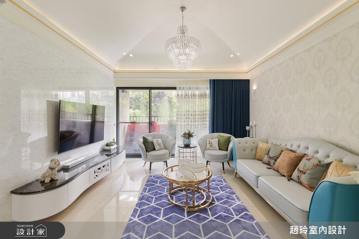 26坪輕奢華新古典宅,堅持最細緻的生活美學