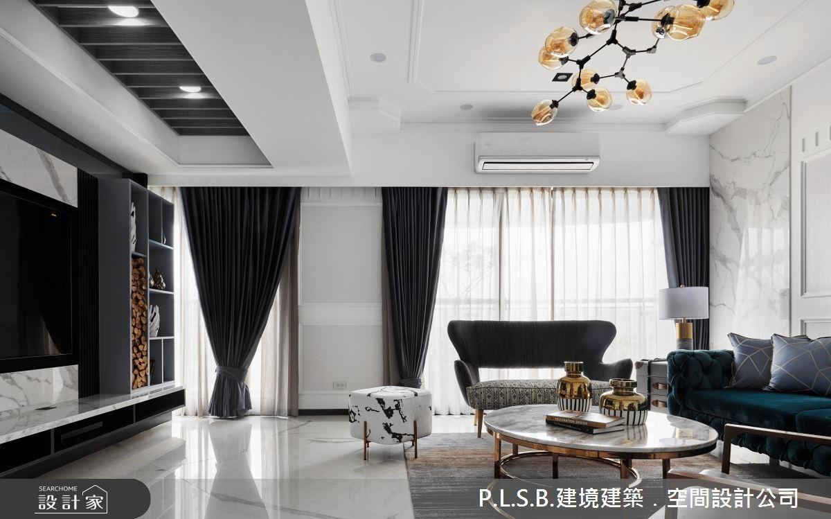 建構三代同堂的優雅情境!開啟美式風豪宅的高規格玄關、奢華感餐廳