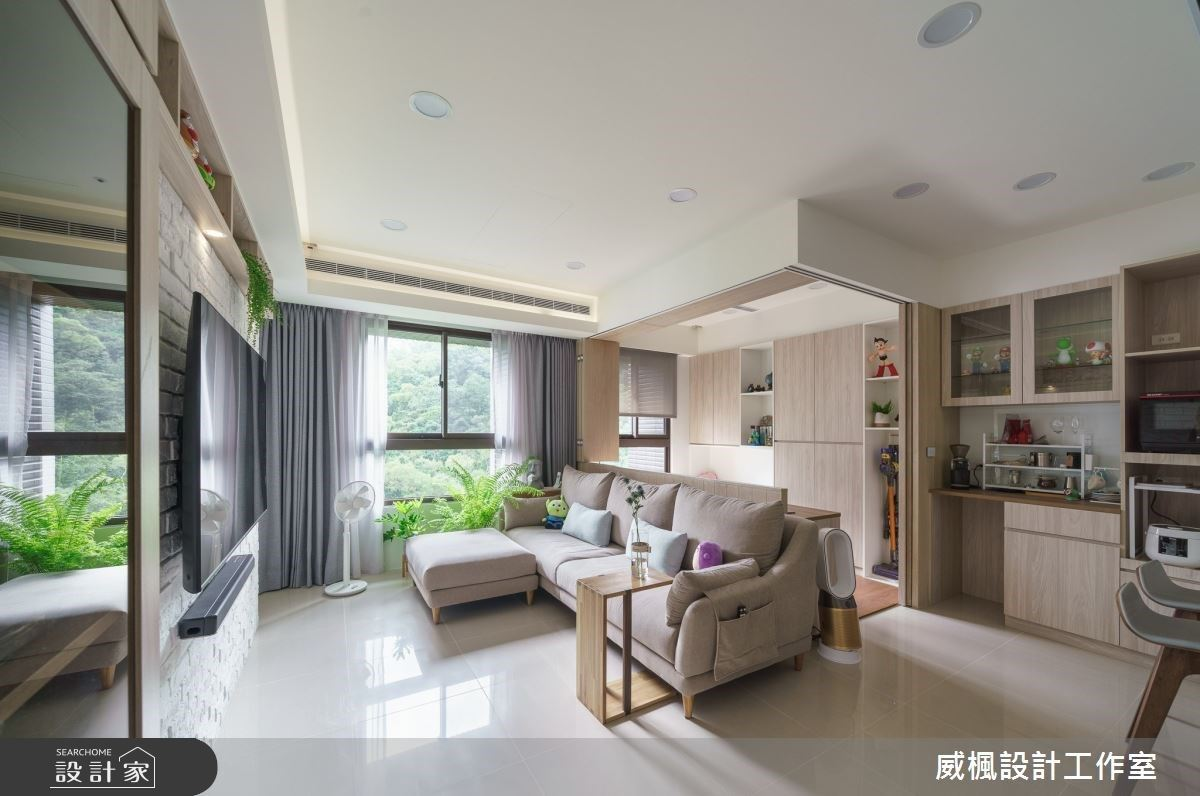 小夫妻的新婚宅!16坪超強收納+綠意智能居家