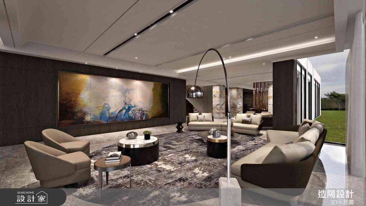 超驚豔!400坪奢華風私人接待所!山景、宴會廳與紅酒櫃讓客人完全不想回家