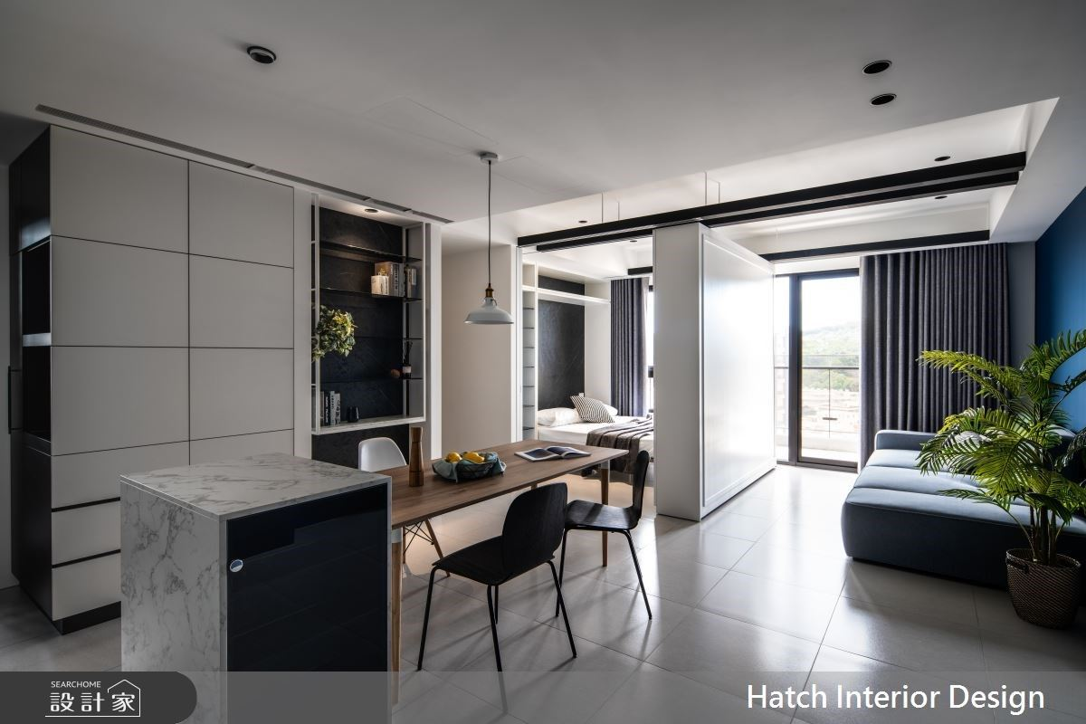 我家的多功能房會移動!彈性 + 1 設計滿足 22 坪單身宅的自由靈魂