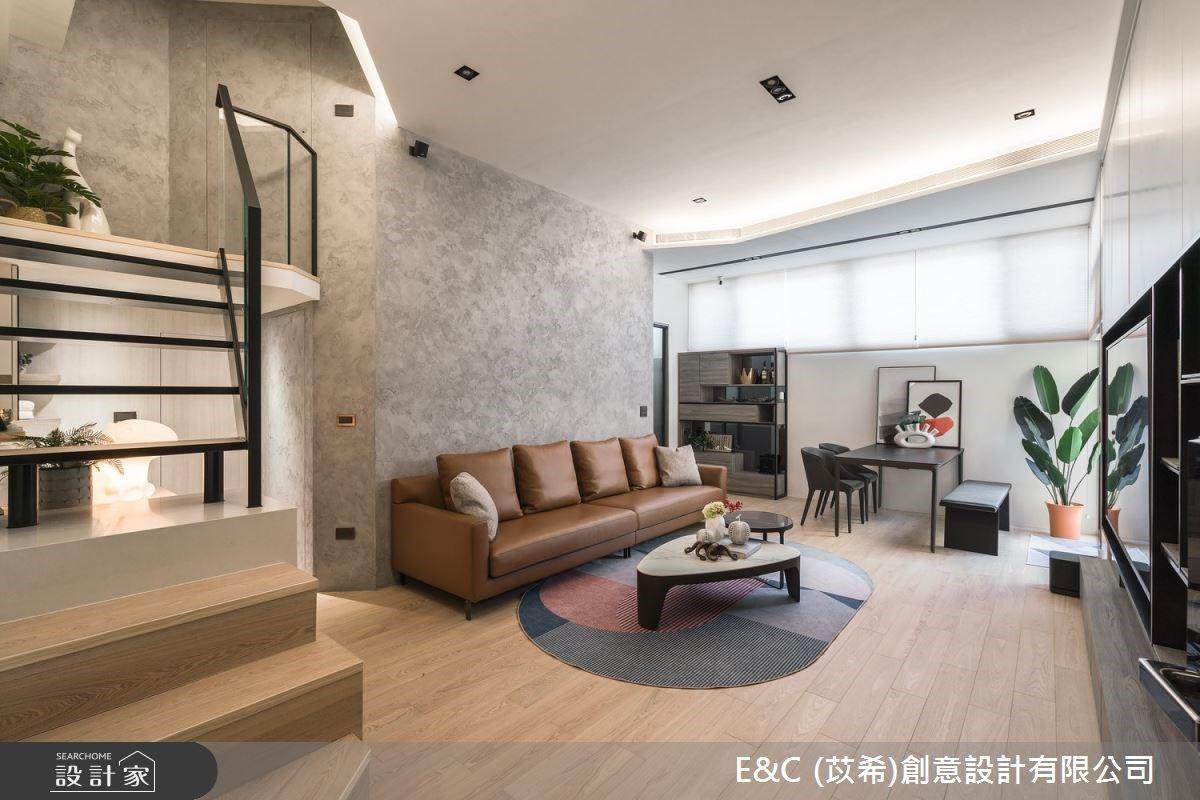 暖男室內設計師的自宅筆記!28 坪簡約風親子宅,有你想要的實用廚房與陽光庭院