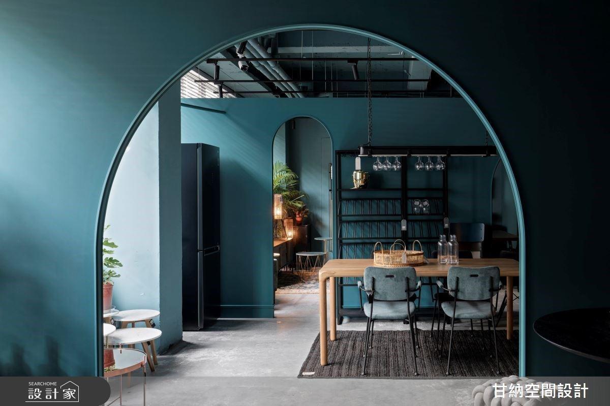 拱門設計創造探索的樂趣!瑪黑家具店中店,在異材質間體驗質感選品的生活美學