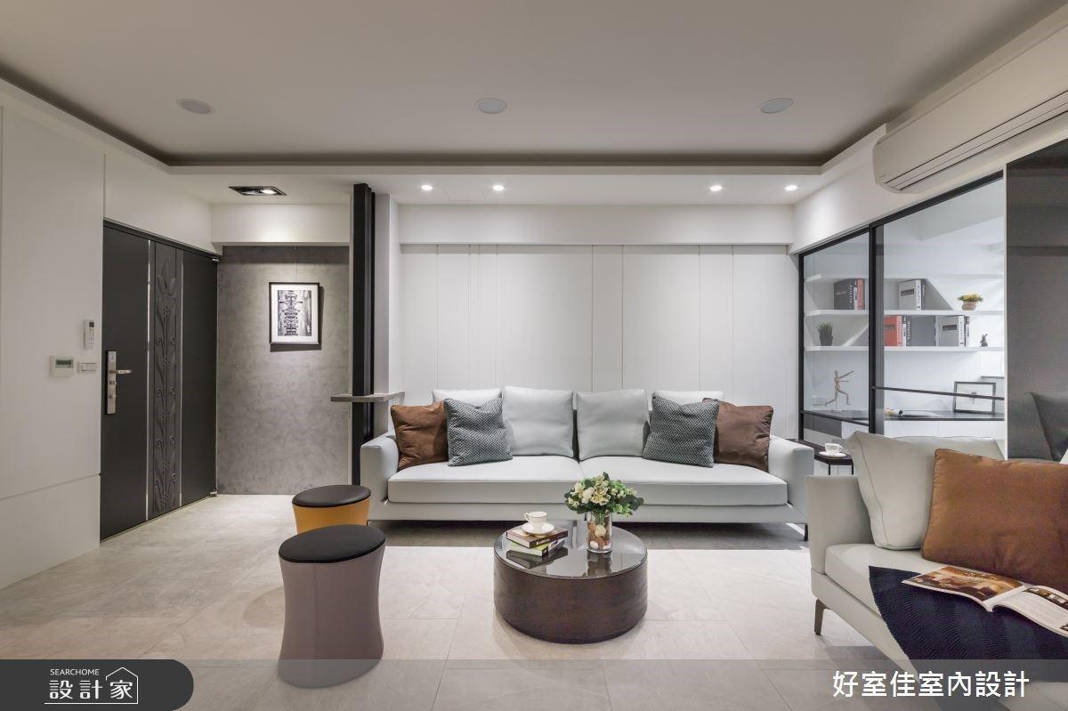 老屋變身現代風舒適宅!俐落白打造藝廊式居家