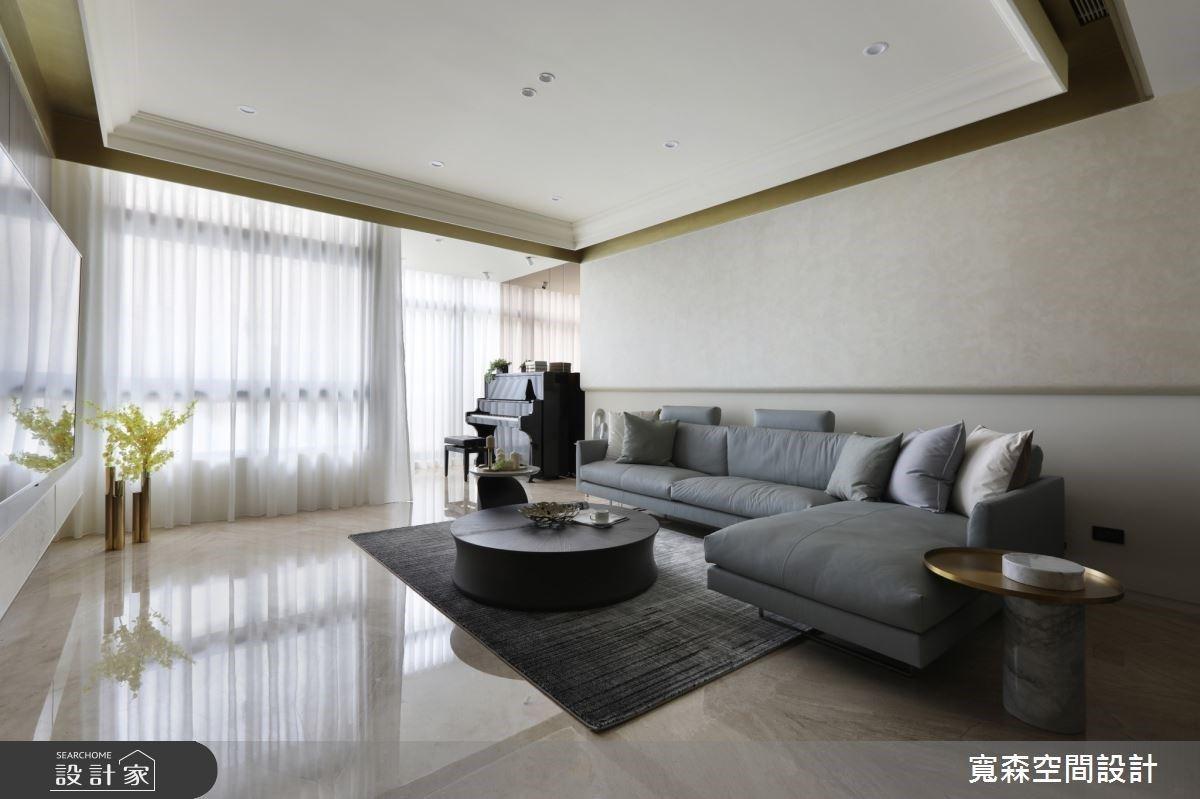 精緻優雅的新古典風透天宅,五層樓打造一家四口的溫馨場域