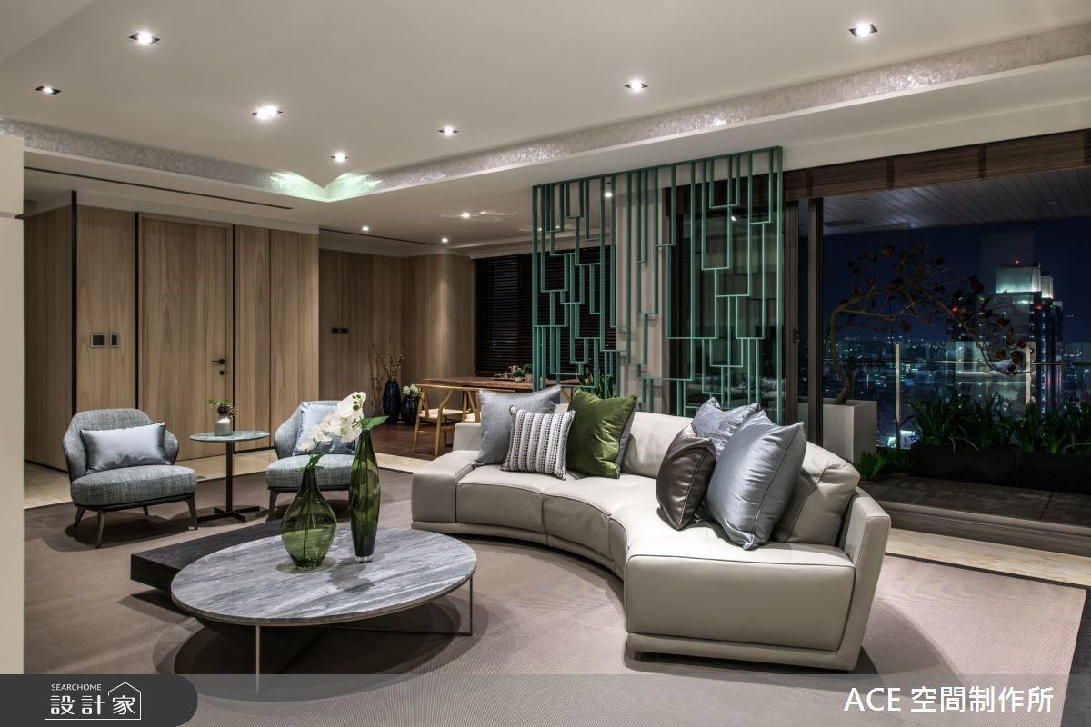 是水族箱,更是雙面電視牆!從大家族到小家庭都滿意的王牌豪宅設計
