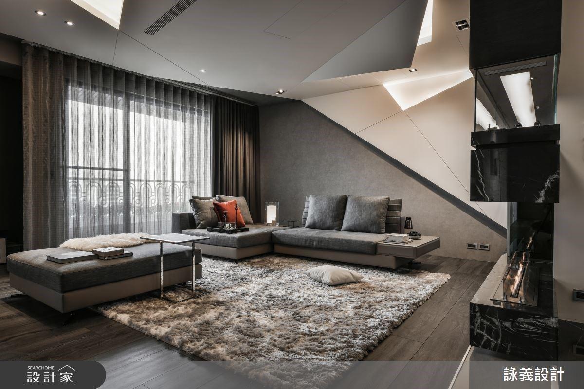 讓陽台走進室內!幾何工藝美學巧妙串連收納、機能與空間動線