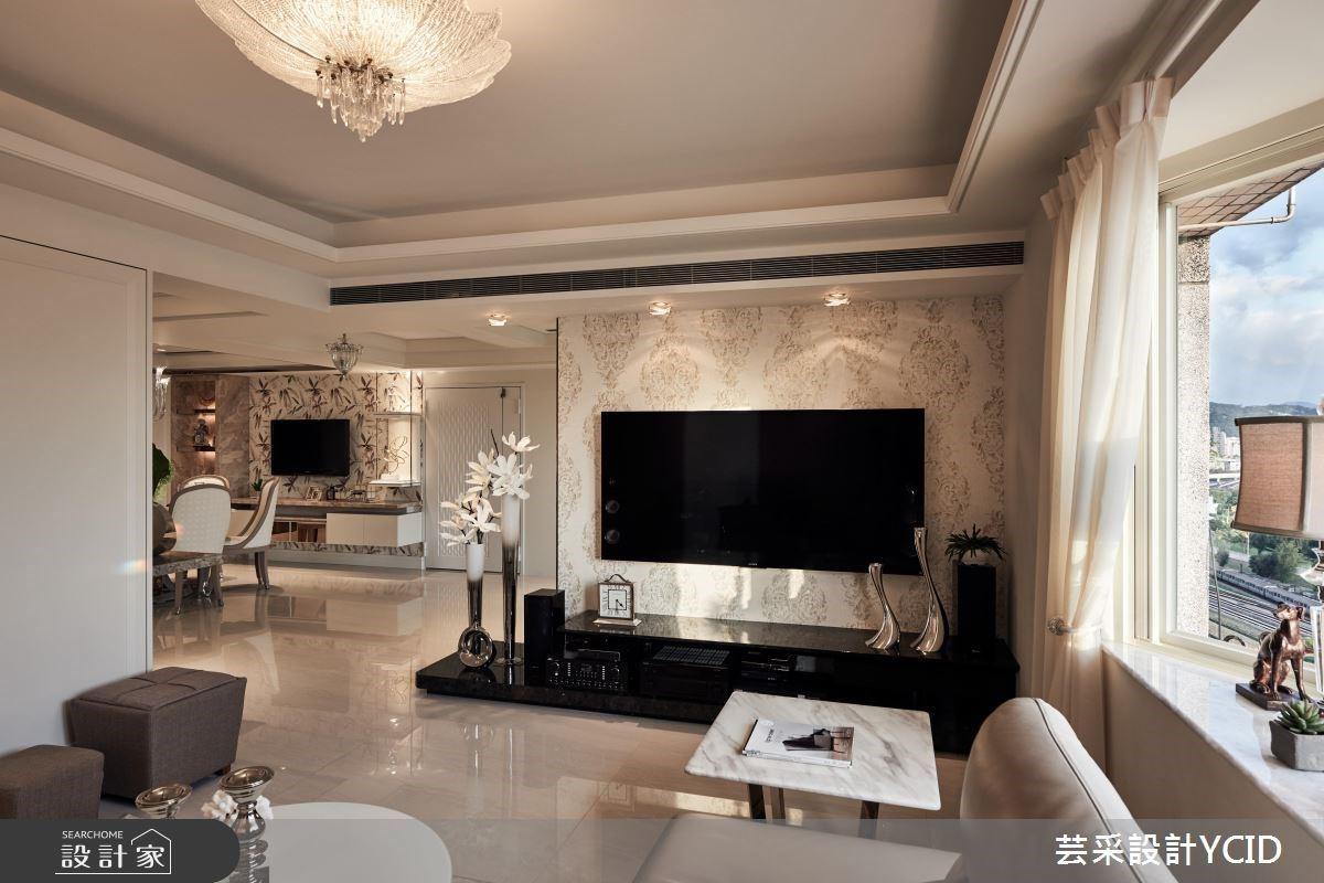 華美新古典風宅,讓專屬的居家藝廊走入精緻生活