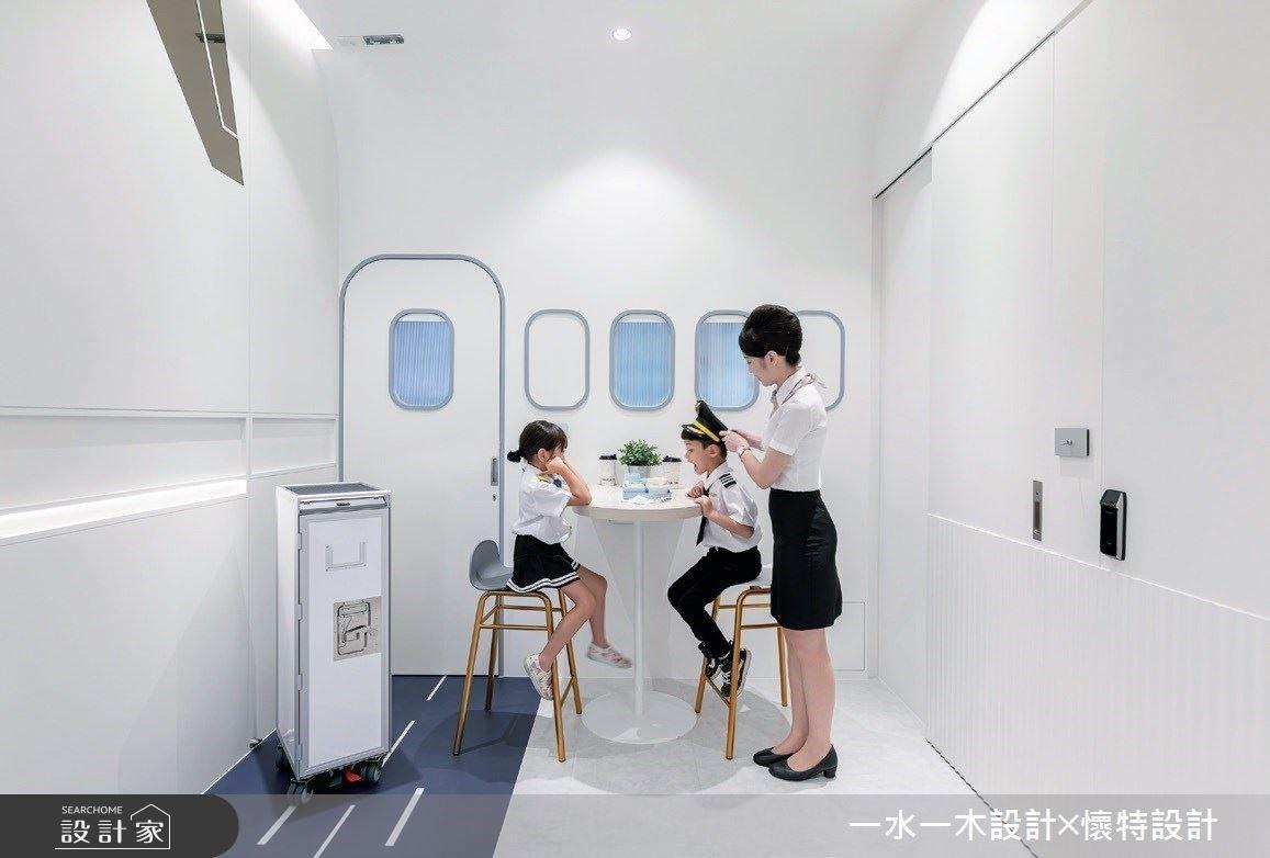好想坐飛機怎麼辦?來機師開的店,在空中機艙喝咖啡!