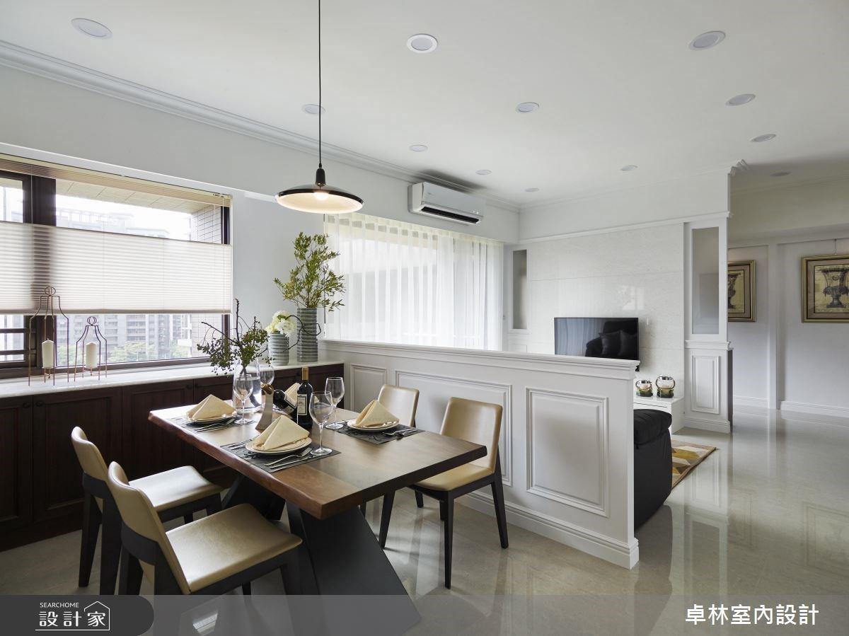 愛上美式簡約的清爽感!中島廚房、景觀浴室讓仨人過得舒適