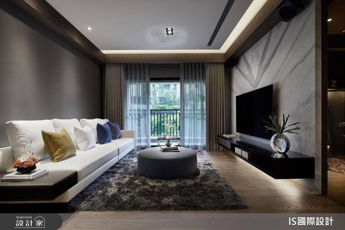 優雅現代風X多元異材質! 33.5坪也能創造豪宅規格