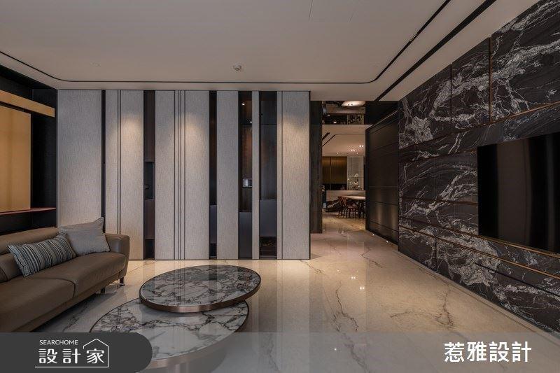 大客廳、時尚收納、溫室花園與KTV室 融入生活儀式感的現代風尚豪宅
