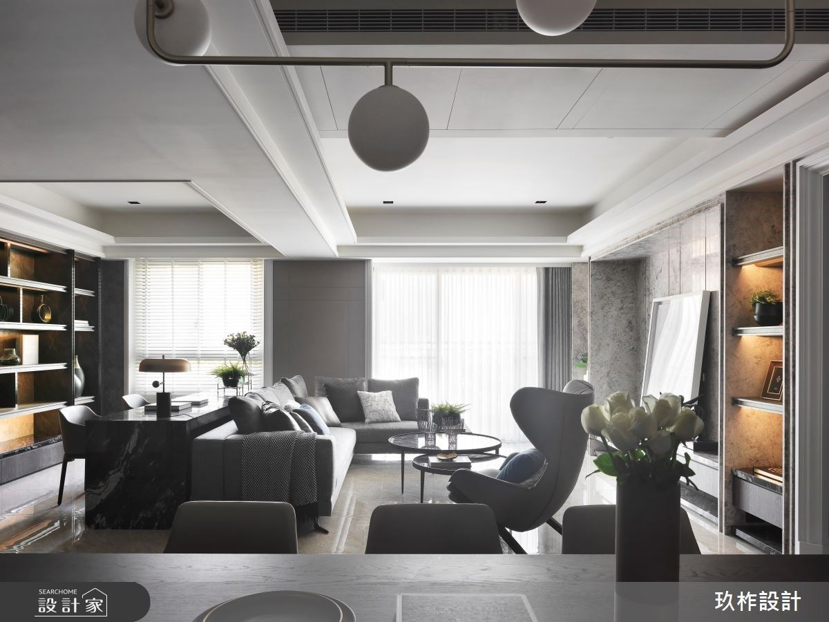 充滿生命力的輕奢建材運用!打造值得細細品味的現代風雅宅