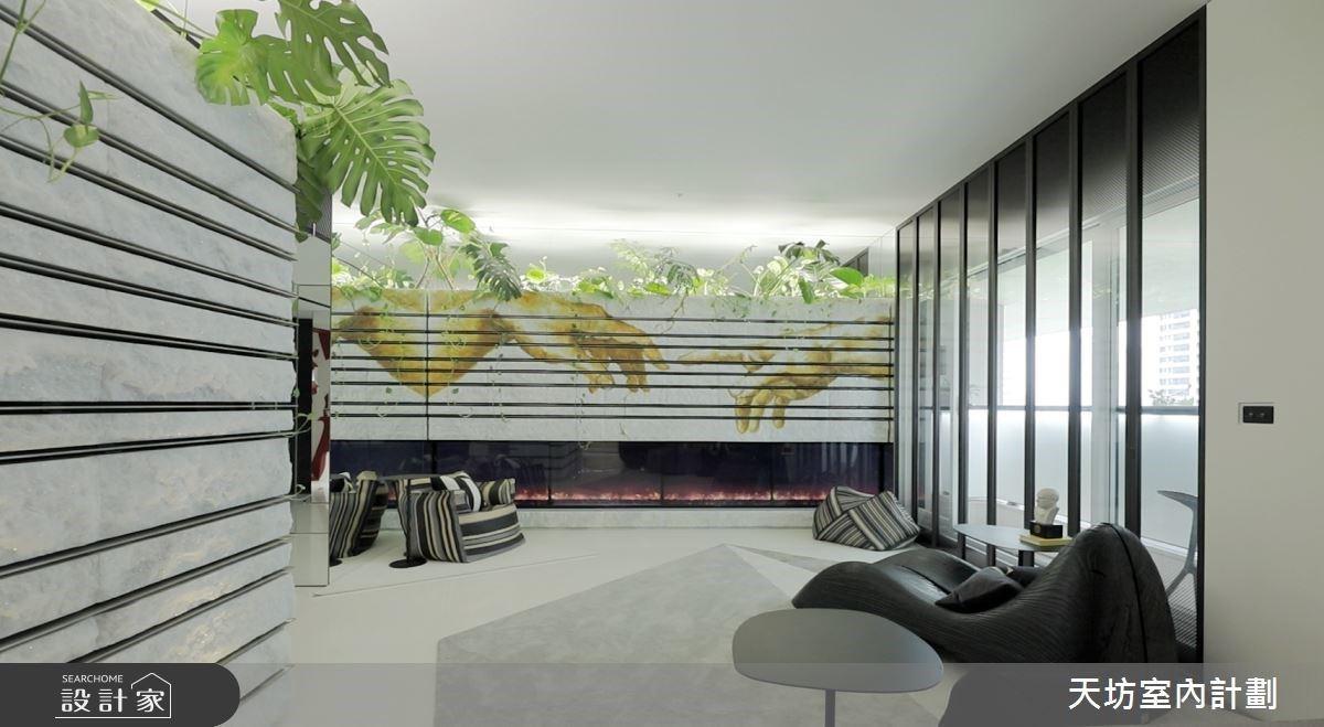翻開《創造亞當》的蒙太奇豪宅學!整合自然、藝術與多元機能的百坪豪宅光景