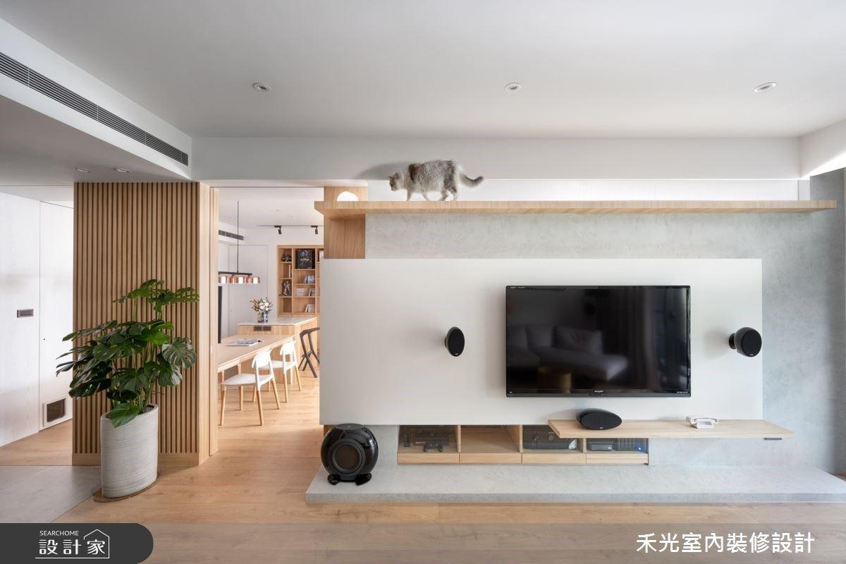貓跳台、漫畫與公仔收納展示櫃!三大木質靈感訂製生活感的日系禪風宅