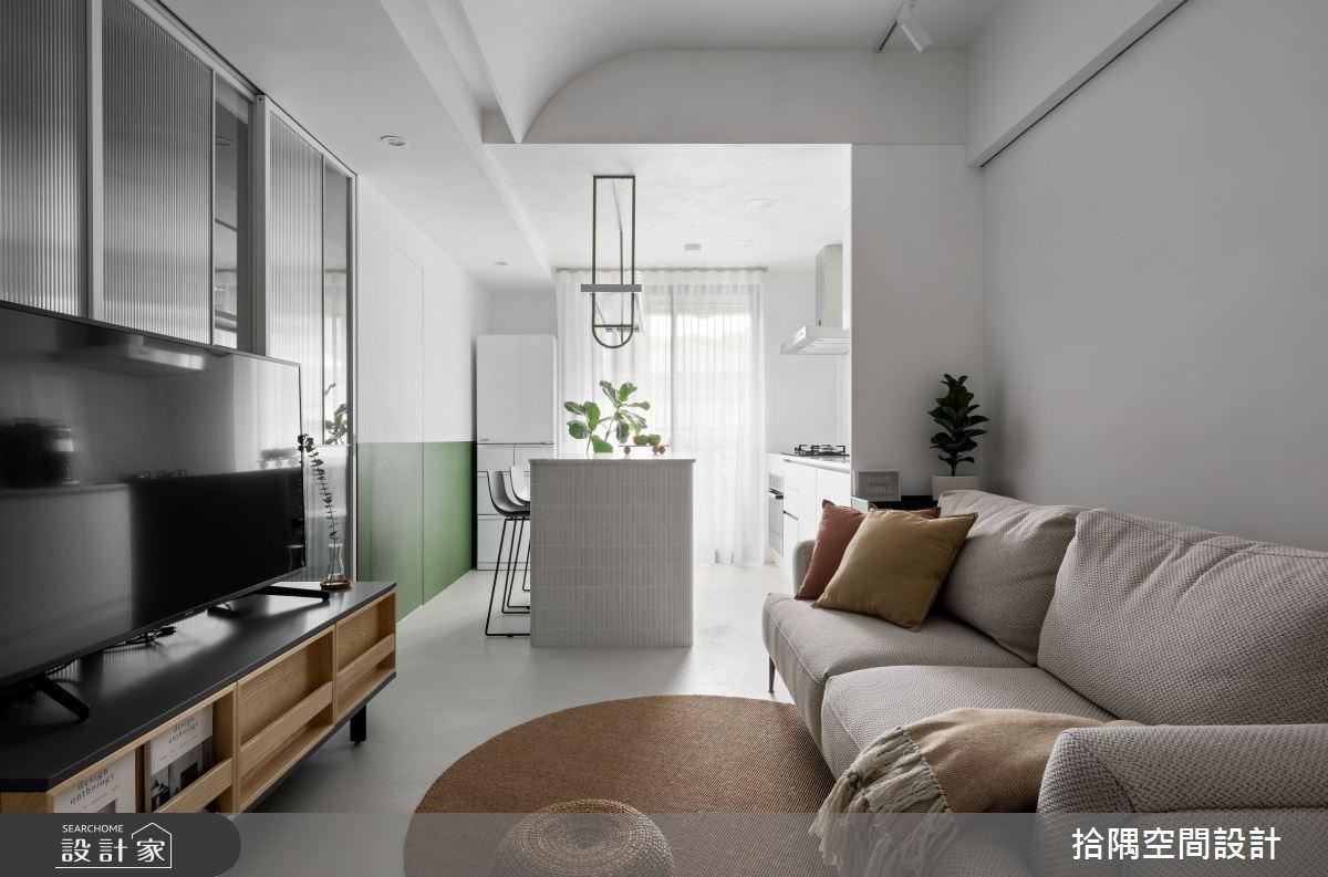 北歐風與日式風的時尚混搭!環繞於綠意與清新感的小坪數住宅
