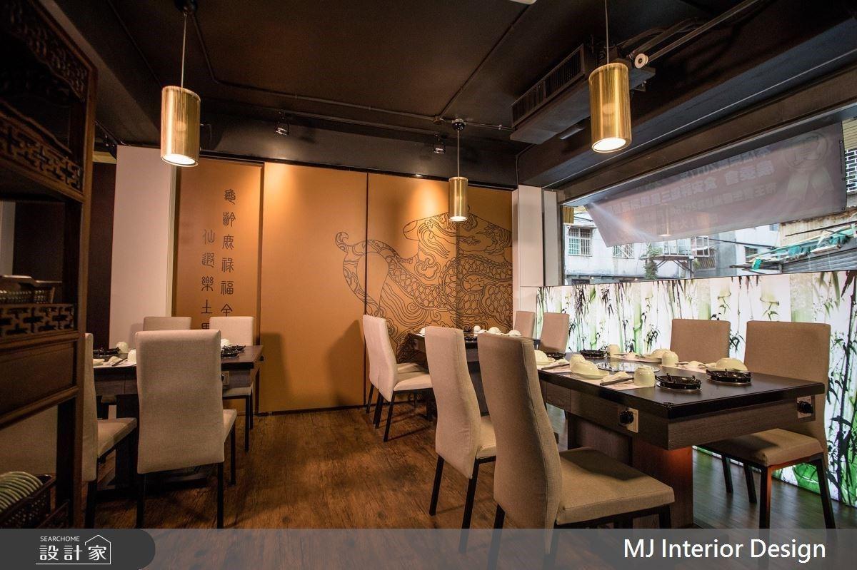 色香味俱全的東方感設計!新中式風老屋結合茶與食養的人文精髓