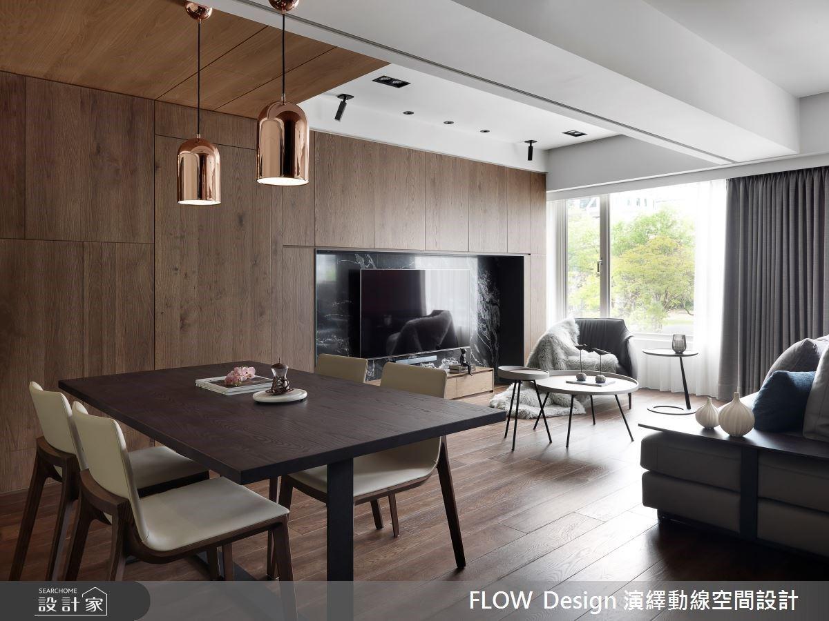 用大地色系打造最懂你的空間!30坪老屋回春,木質調、石材寫下現代風的溫柔陪伴