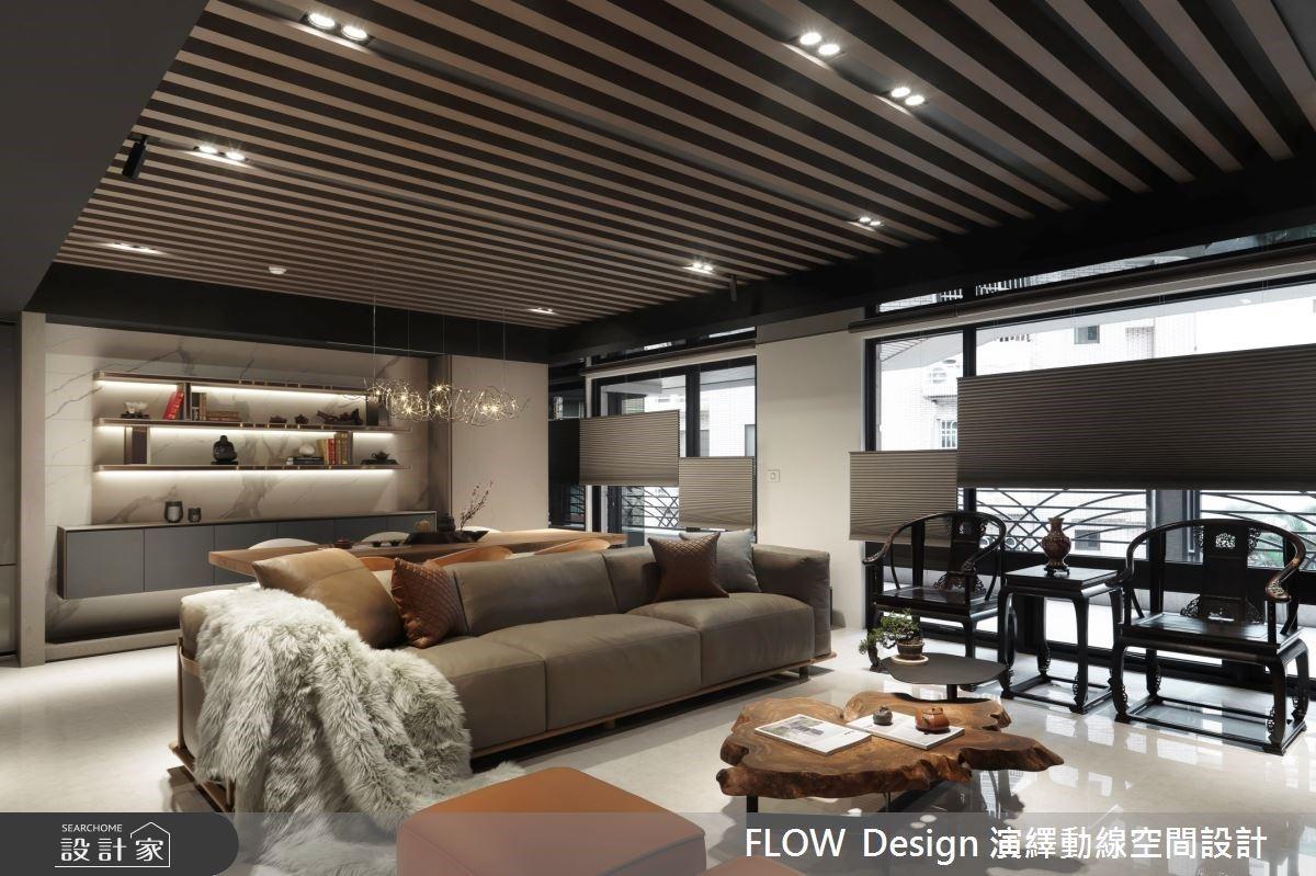 彷彿走進藏寶閣!揉合現代感與新東方美學,勾勒脫俗優雅的60坪輕奢大宅